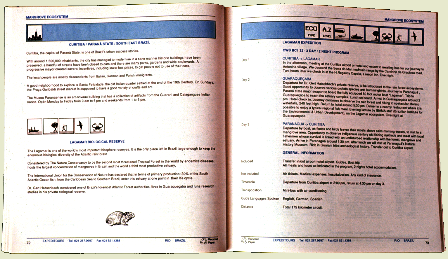 rio92 manual Ecoturismo Expeditours Embratur FV margemvermelha paginas internas